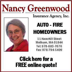 Nancy Greenwood Insurance Agency, Inc.  11 Haverhill Street Methuen, MA