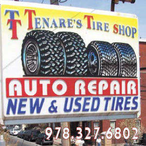 Tenares Tire Shop 348 Broadway Lawrence, MA 01841 (978) 327-6802