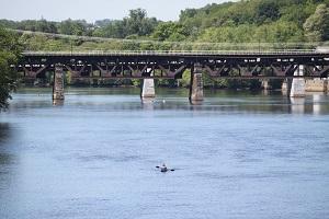 Merrimack River in Haverhill. Photo Credit: Marc Lemay