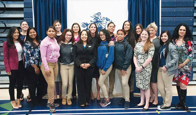 State Representative Diana DiZoglio (D-Methuen) recently hosted, for a third-consecutive year, Young Women Career Day for more than 300 9th grade female students at Lawrence High School.