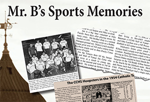 "Frank Benjamin's book ""Mr. B's Sports Memories"" is for sale. At the recent Roast in his honor, Mr. B requested that the evening's profit be dedicated to the Canal Street Boxing Gym, a place he greatly admires for the work they do with Lawrence youth. This is a great keepsake for anyone growing up in the Merrimack Valley."